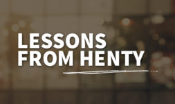 Lessons from Henty