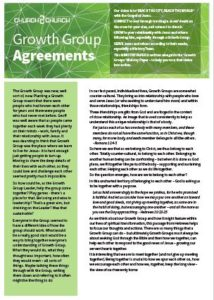 growth group agreements