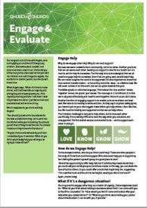 engage and evaluate