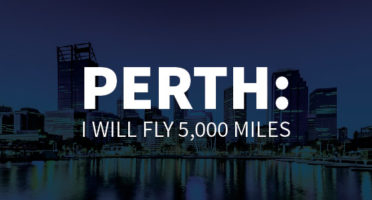 Perth: I will fly 5,000 miles